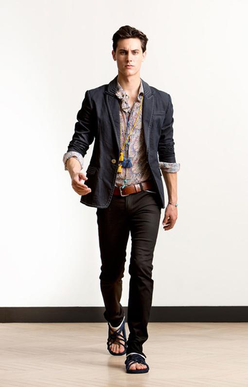 Alexis Mabille <br> Menswear Spring 2014 <br>Look 04