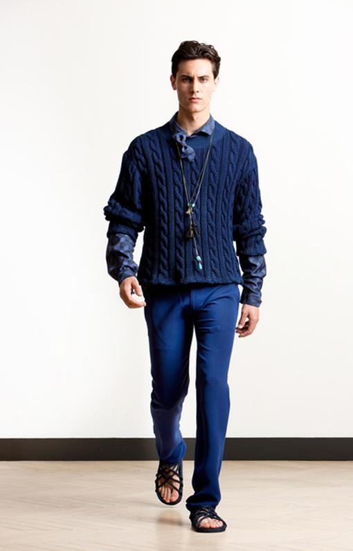 Alexis Mabille <br> Menswear Spring 2014 <br>Look 05