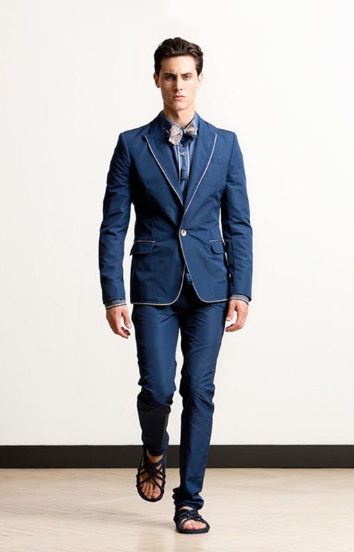Alexis Mabille <br> Menswear Spring 2014 <br>Look 09