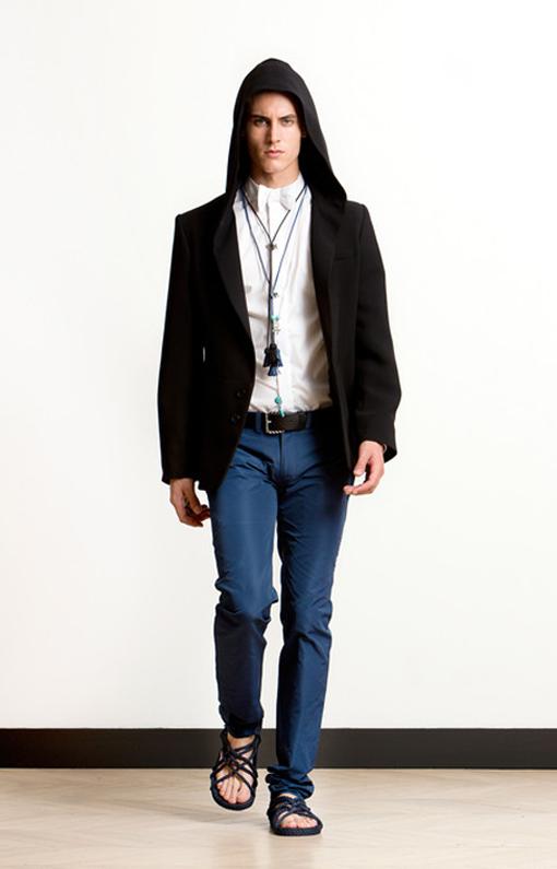 Alexis Mabille <br> Menswear Spring 2014 <br>Look 10
