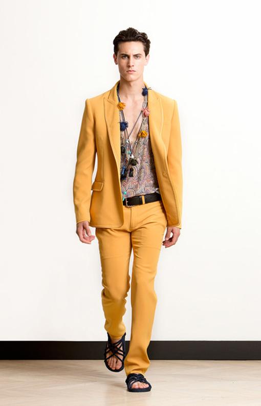 Alexis Mabille <br> Menswear Spring 2014 <br>Look 12