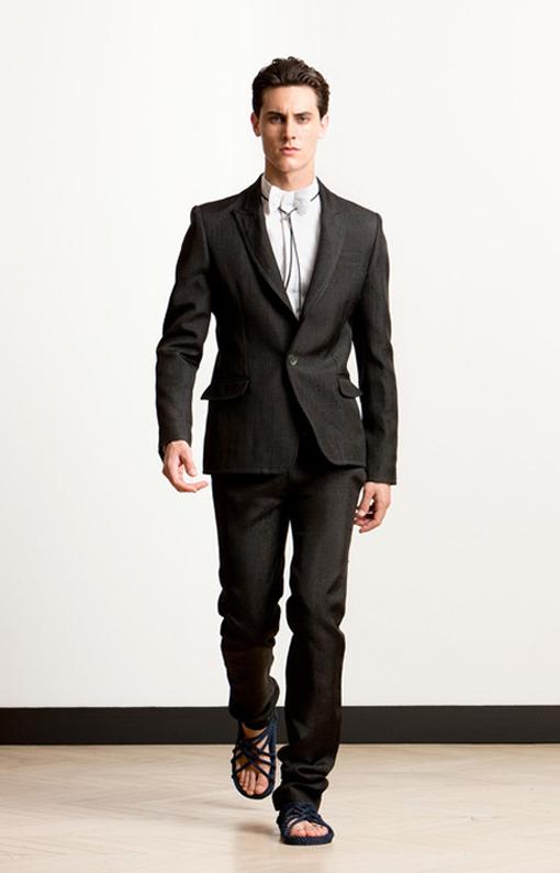 Alexis Mabille <br> Menswear Spring 2014 <br>Look 13