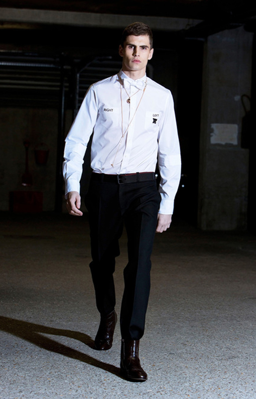Alexis Mabille <br> Menswear Fall 2013 <br>Look 03