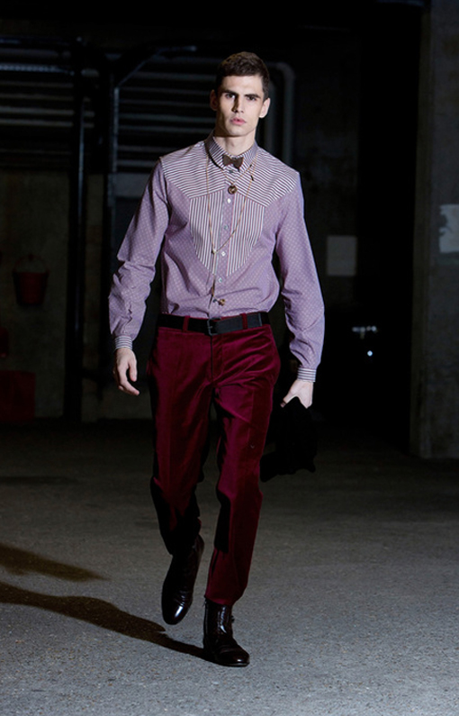 Alexis Mabille <br> Menswear Fall 2013 <br>Look 04