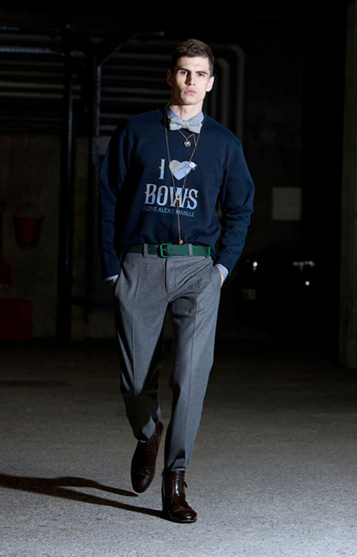 Alexis Mabille <br> Menswear Fall 2013 <br>Look 06