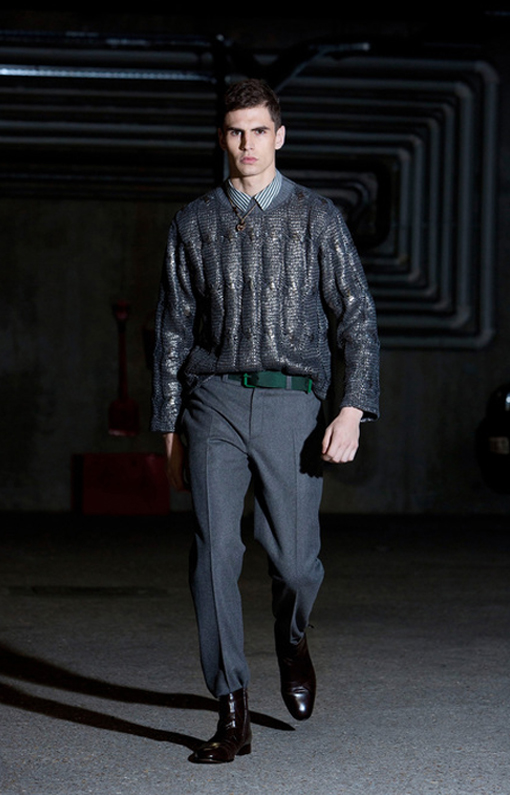 Alexis Mabille <br> Menswear Fall 2013 <br>Look 10