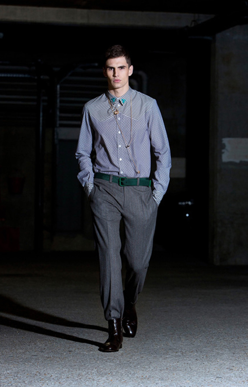 Alexis Mabille <br> Menswear Fall 2013 <br>Look 12