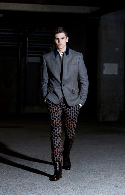 Alexis Mabille <br> Menswear Fall 2013 <br>Look 13