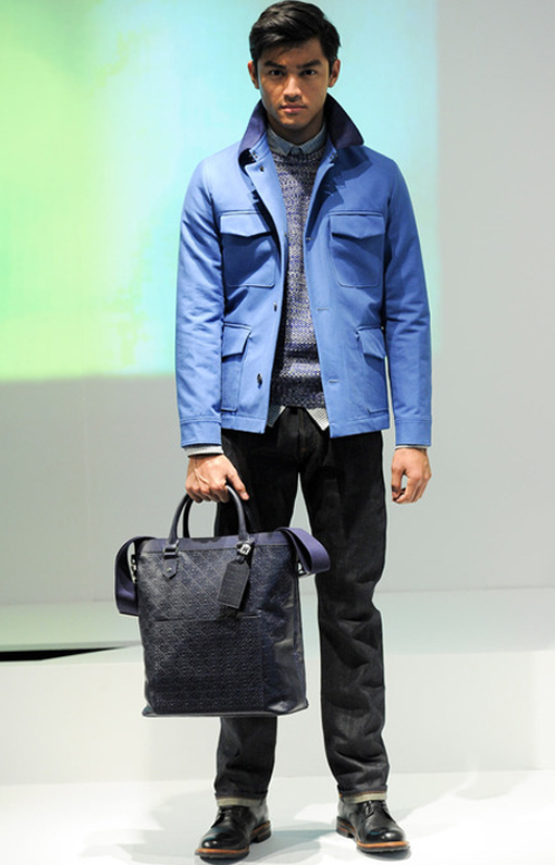 Hardy Amies <br> Menswear Fall 2014 <br>Look 02