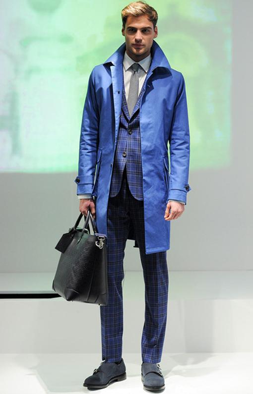 Hardy Amies <br> Menswear Fall 2014 <br>Look 04