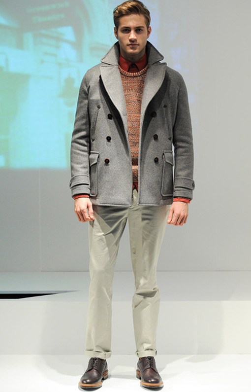 Hardy Amies <br> Menswear Fall 2014 <br>Look 08