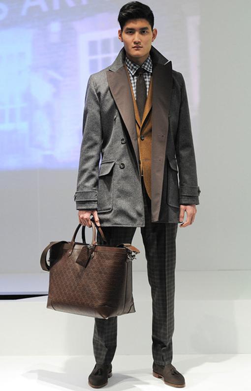 Hardy Amies <br> Menswear Fall 2014 <br>Look 10