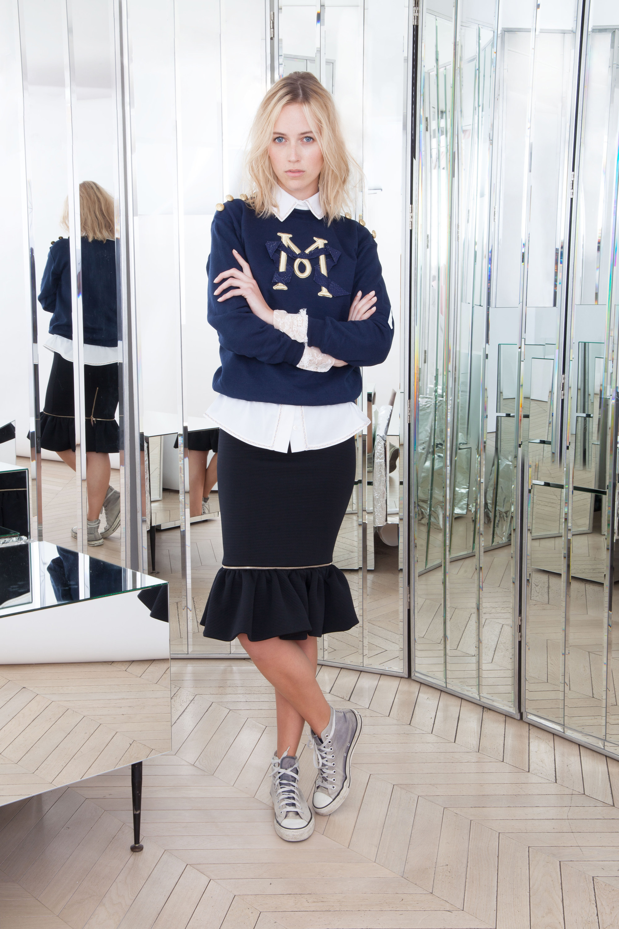 ALEXIS MABILLE <br>  PRE FALL 2016 <br>JU113 INW/116