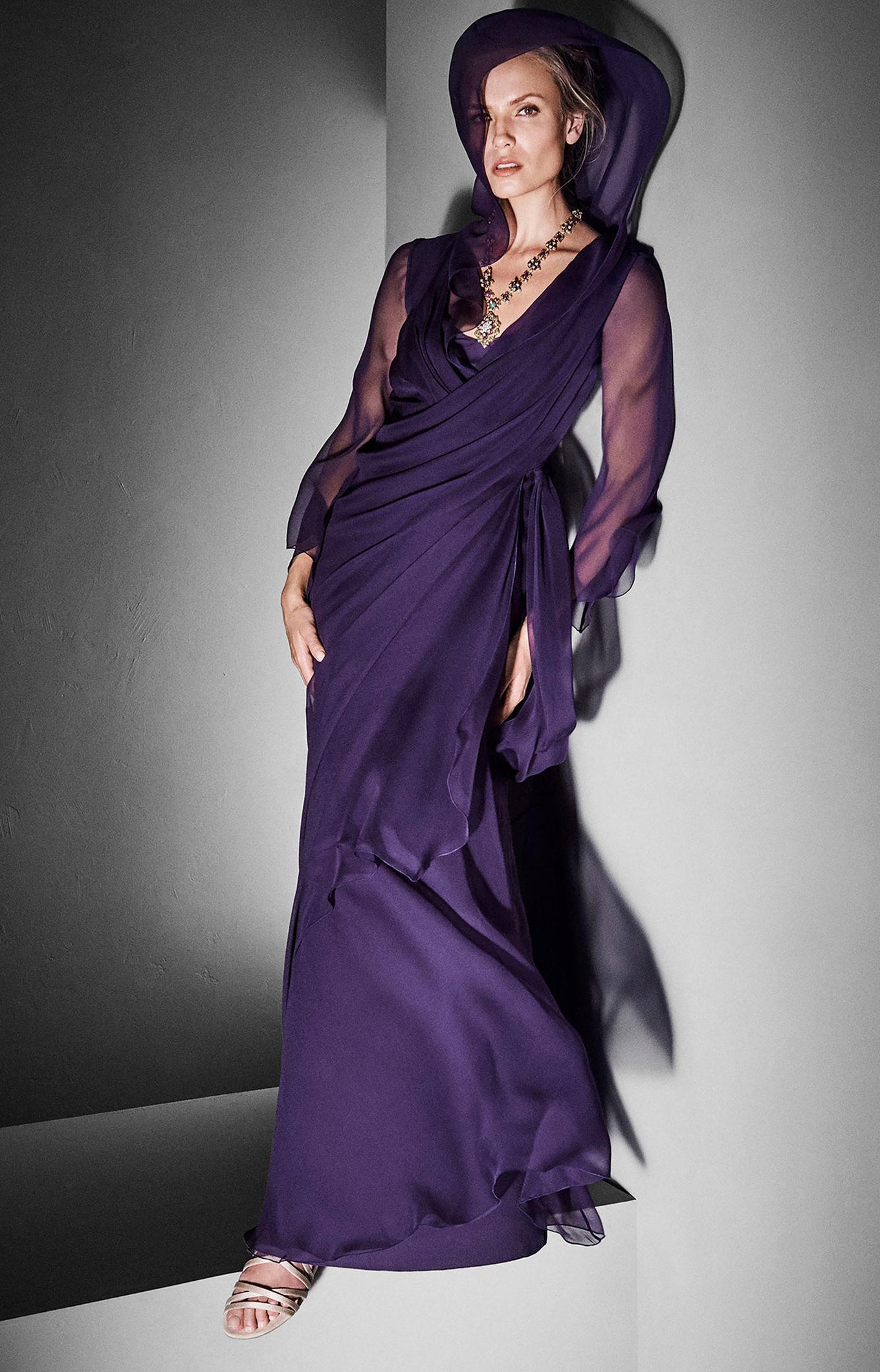 Alberta Ferretti<br>Fall 2017 Couture<br>Look 10