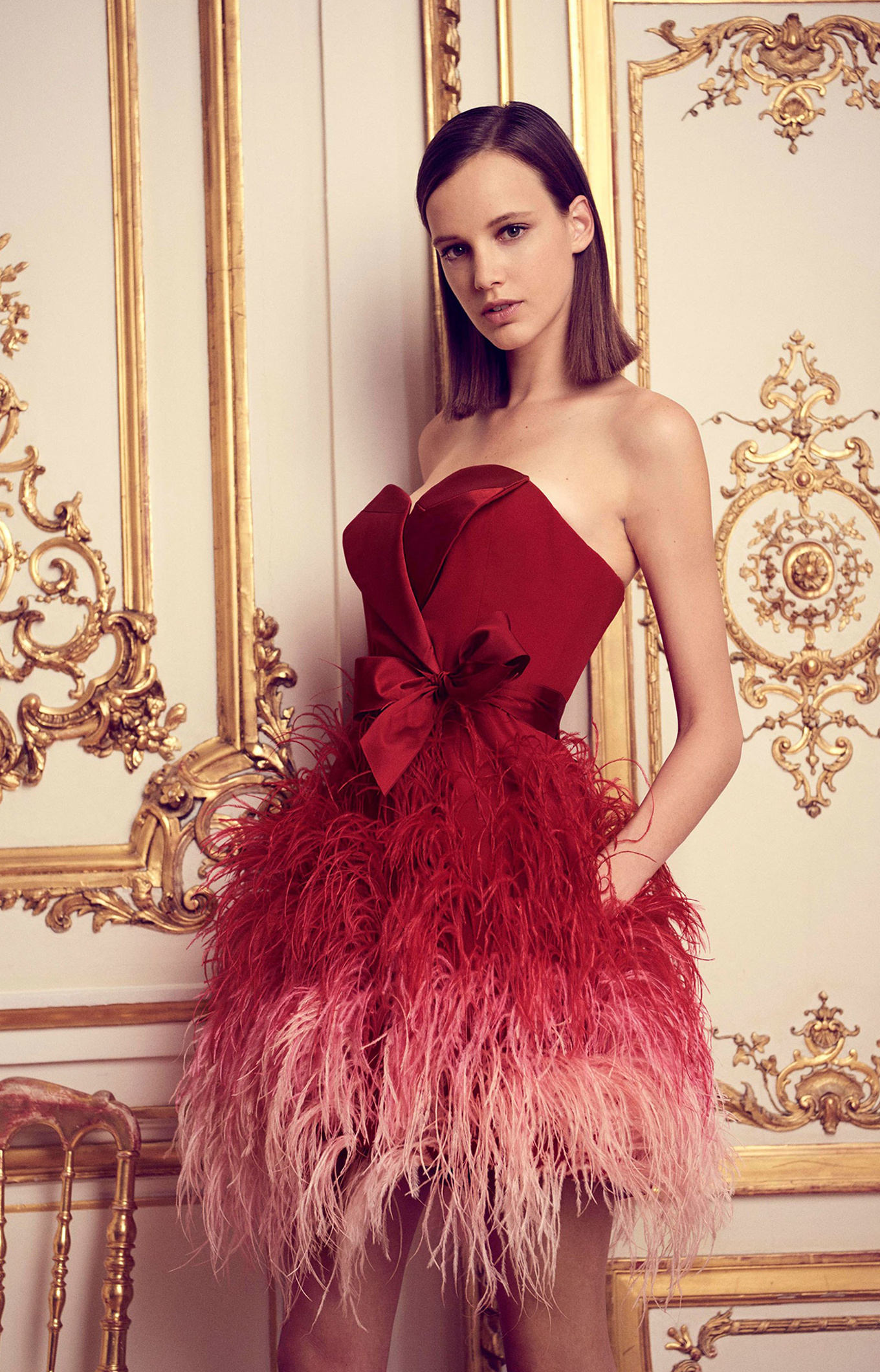 Alexis Mabille <br> Fall 2017 Couture<br>Look 18