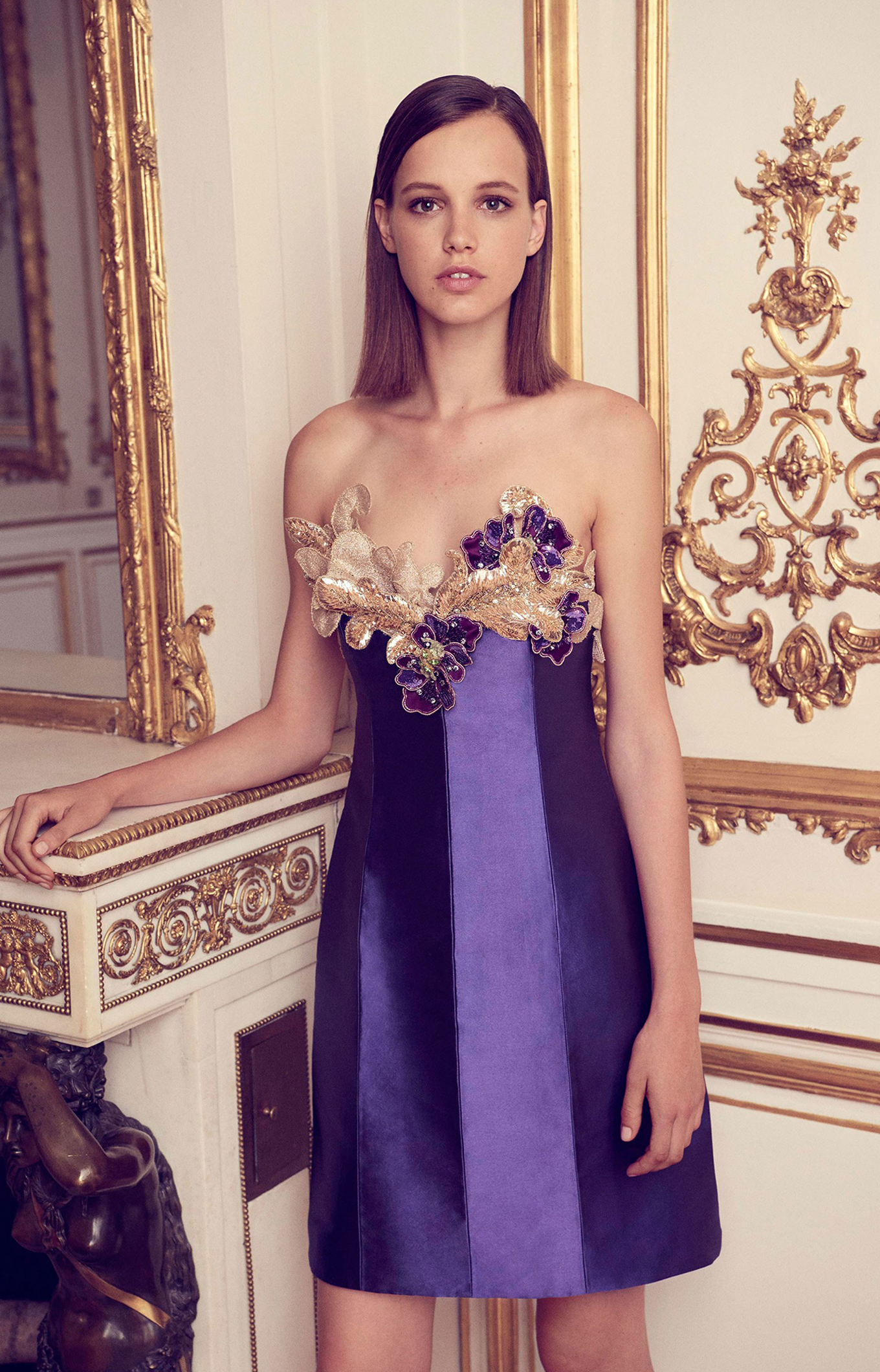 Alexis Mabille <br> Fall 2017 Couture<br>Look 12