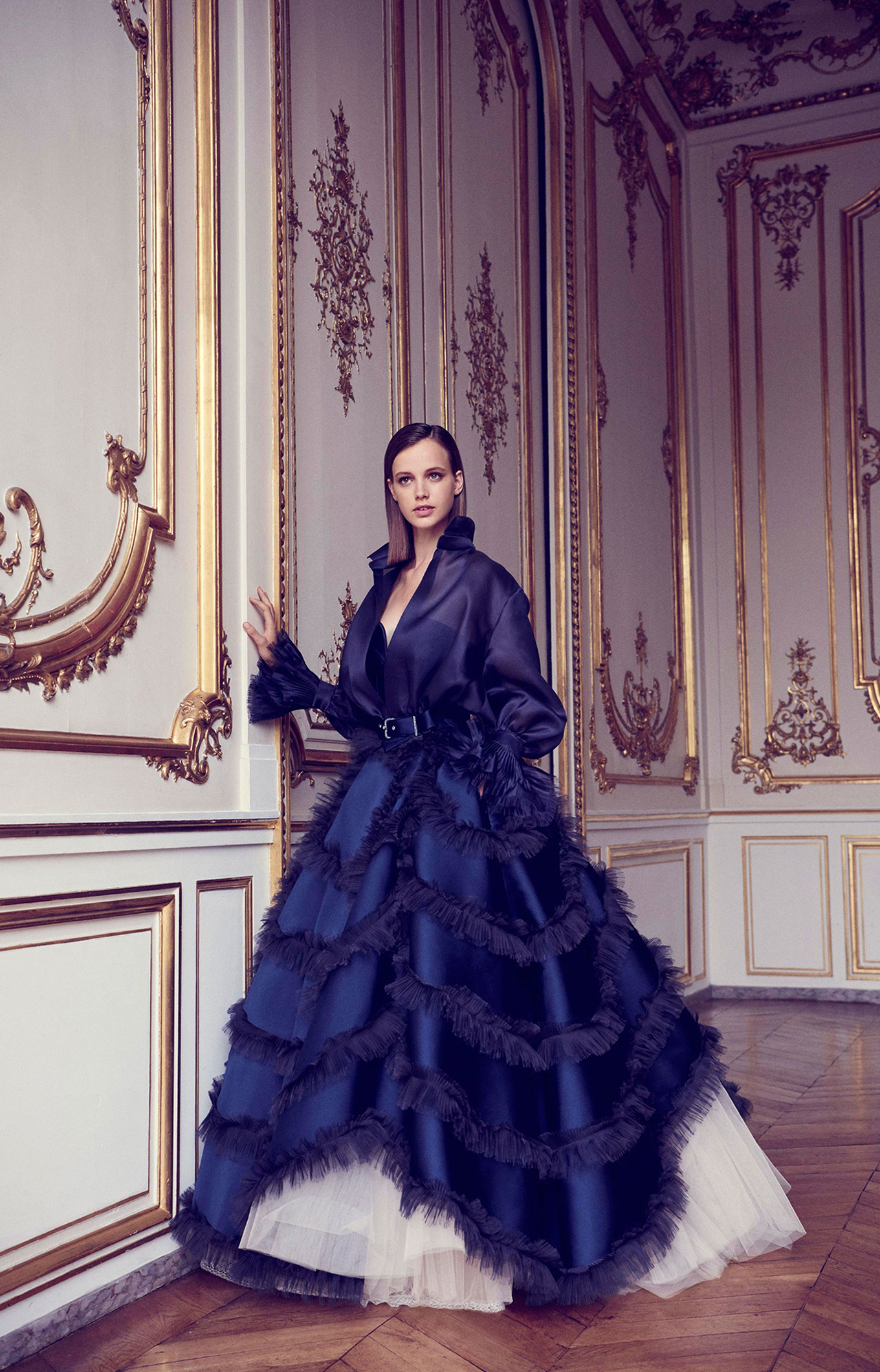 Alexis Mabille <br> Fall 2017 Couture<br>Look 10