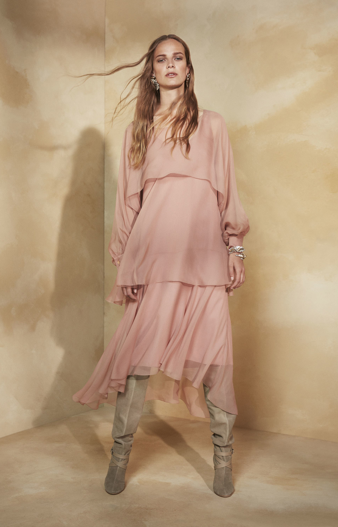 Alberta Ferretti<br>Resort 2018<br>Look 11