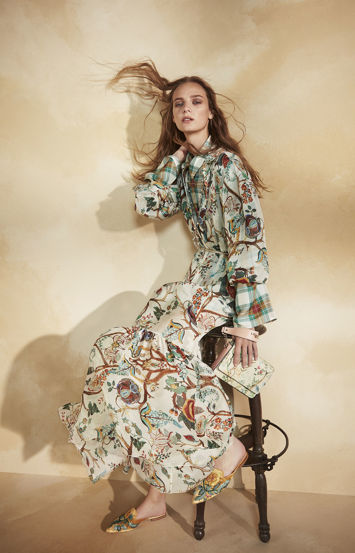 Alberta Ferretti<br>Resort 2018<br>Look 09