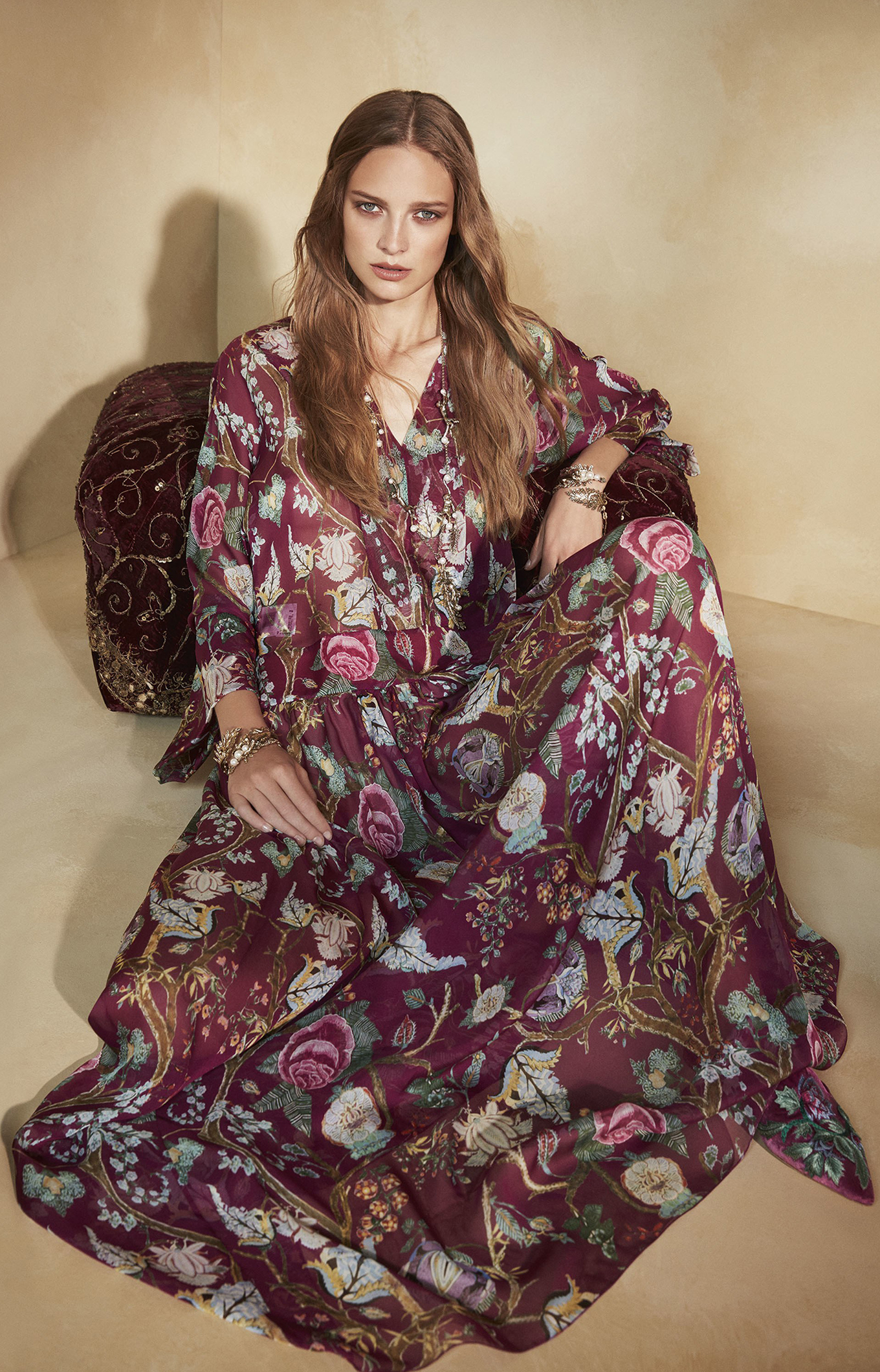 Alberta Ferretti<br>Resort 2018<br>Look 08