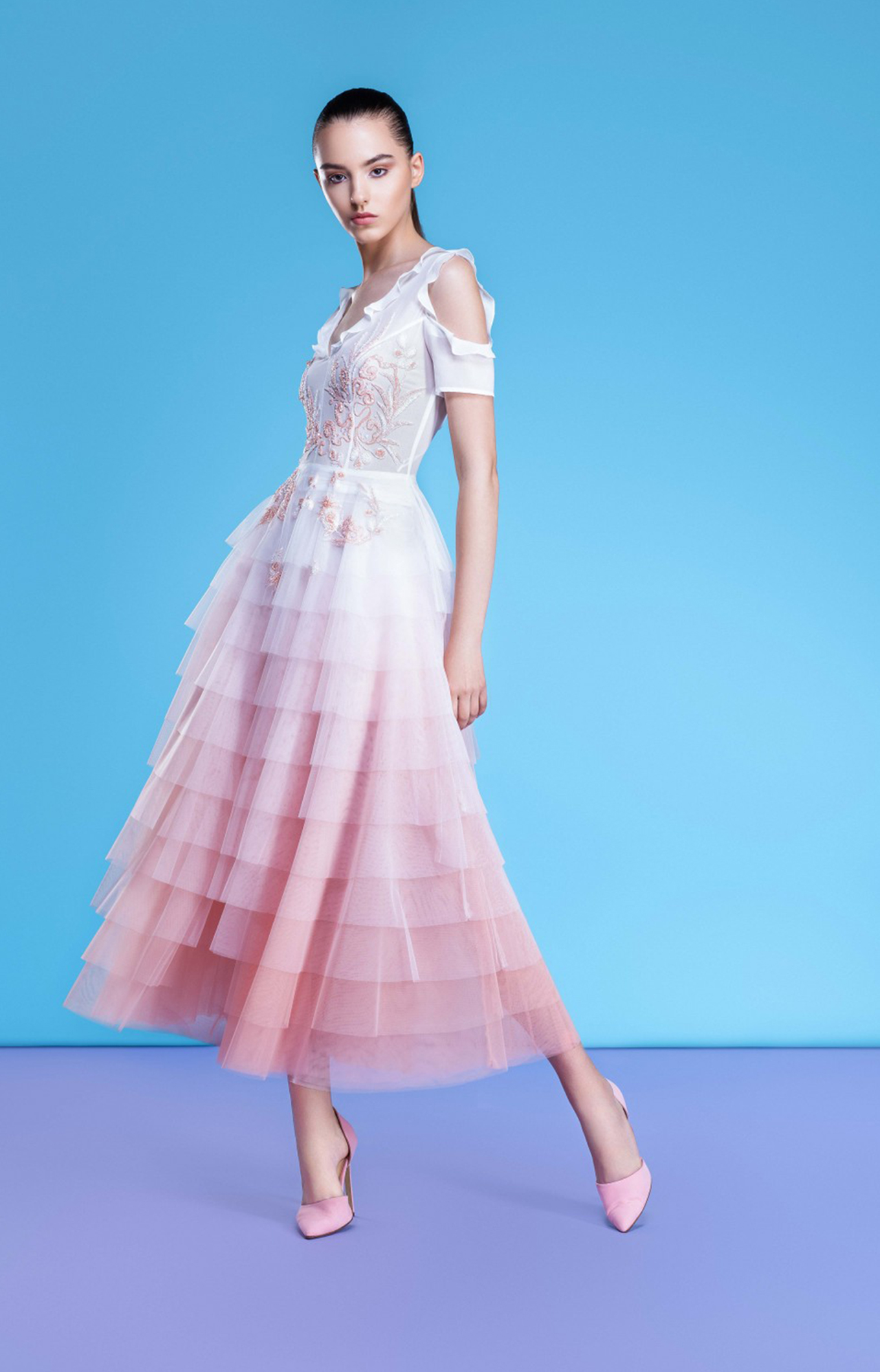 Georges Hobeika<br>Resort 2018<br>Look 28