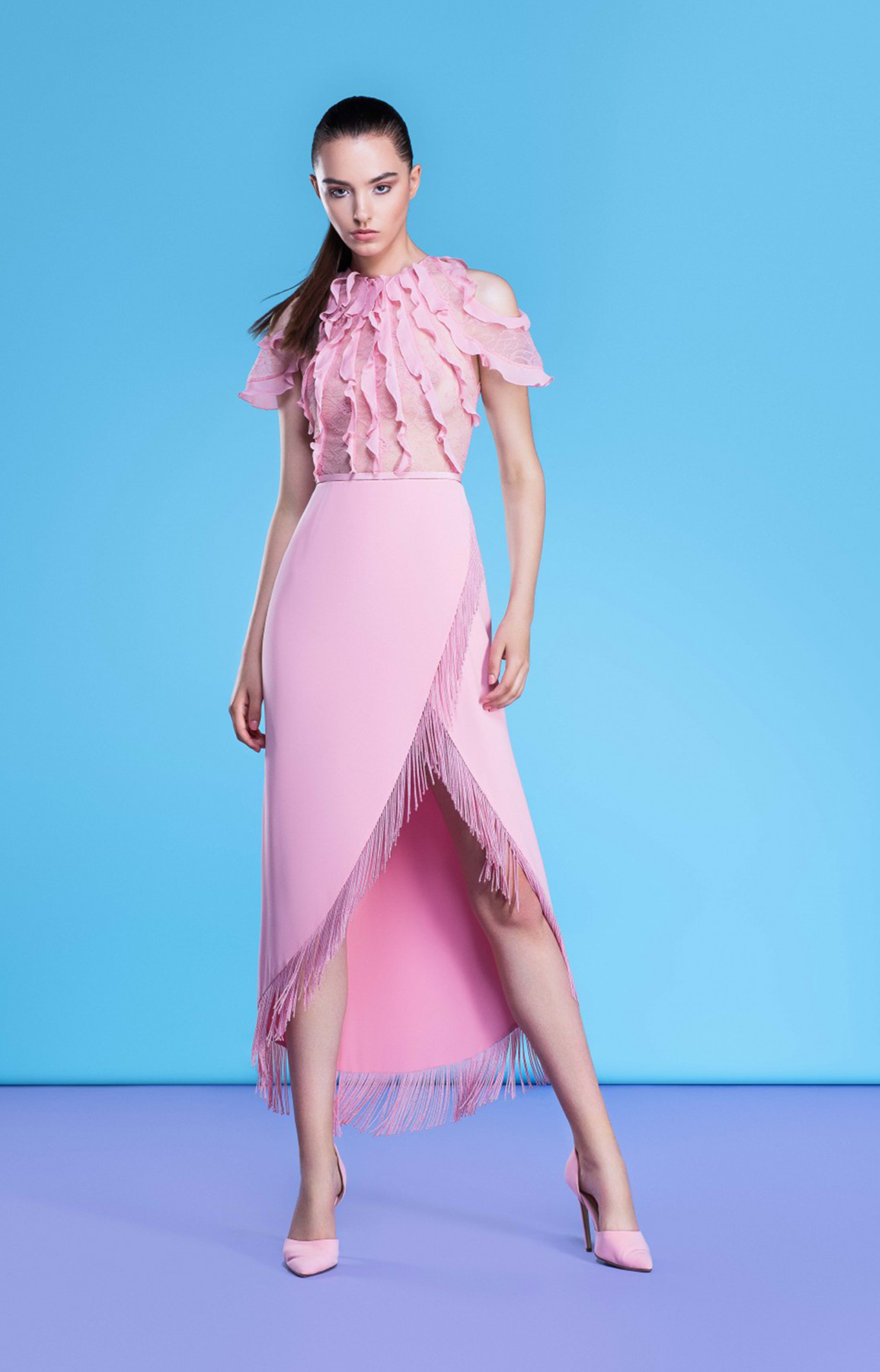 Georges Hobeika<br>Resort 2018<br>Look 13