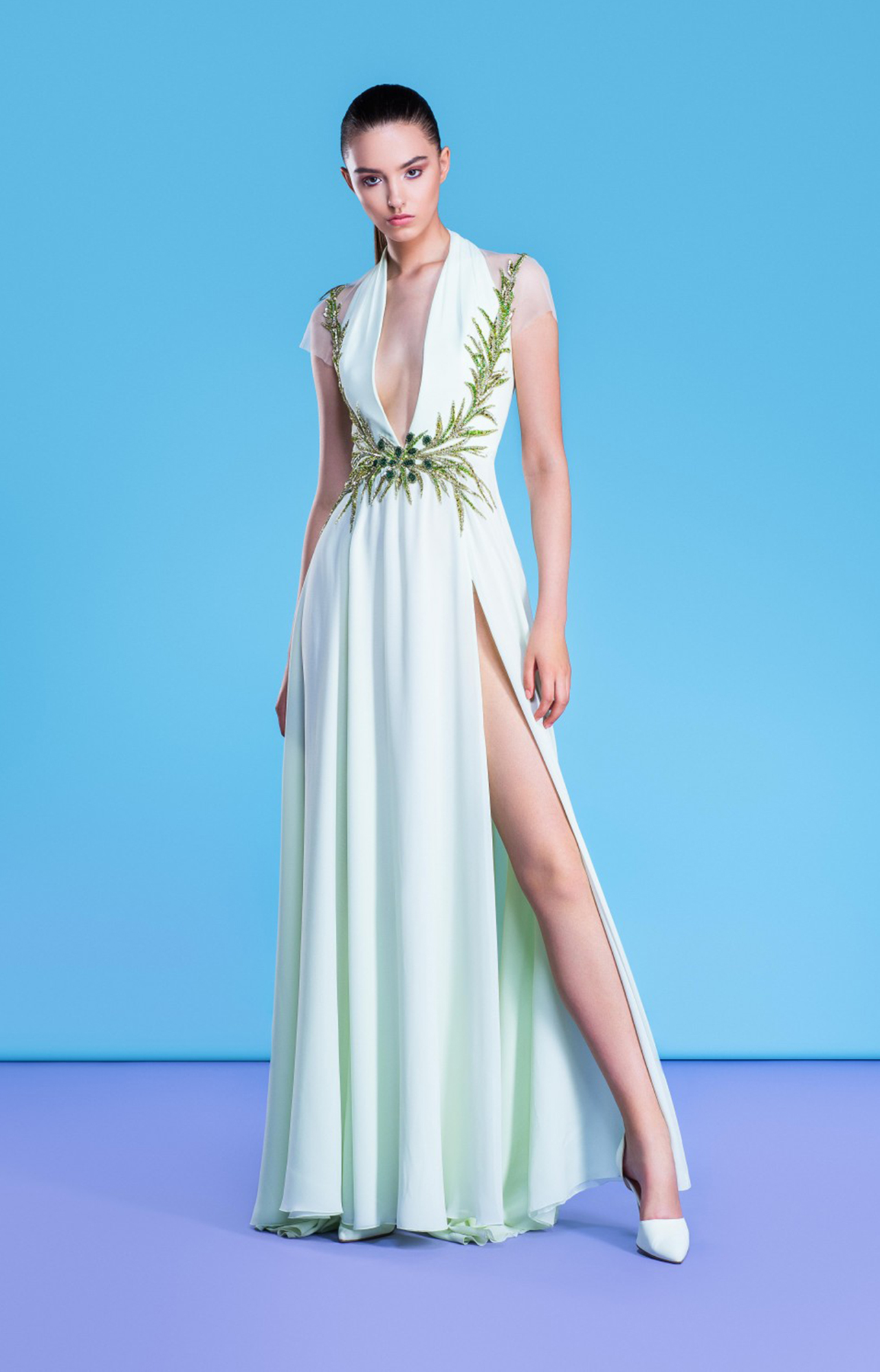 Georges Hobeika<br>Resort 2018<br>Look 10
