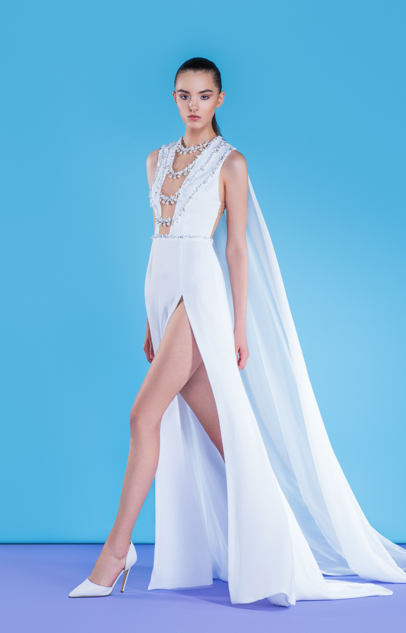 Georges Hobeika<br>Resort 2018<br>Look 03