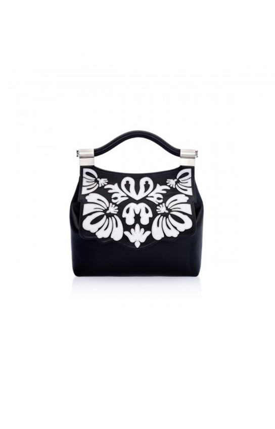Thale Blanc <br>Spring 2017<br>audrey lasercut black-white-formatted