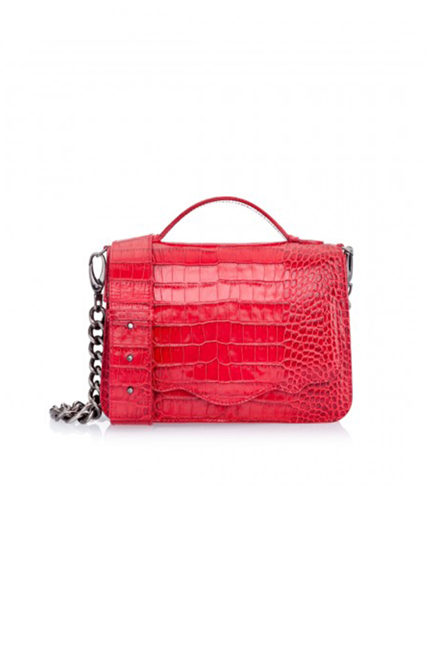 Thale Blanc <br>Spring 2017<br>audreyette nuvo croc red