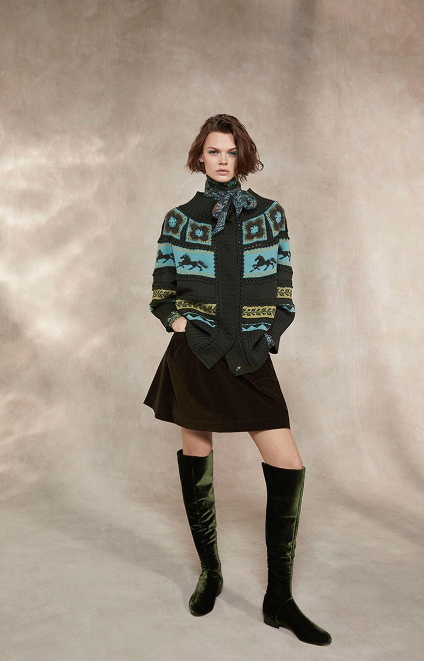 Alberta Ferretti<br>Pre-Fall 2018<br>Look 03