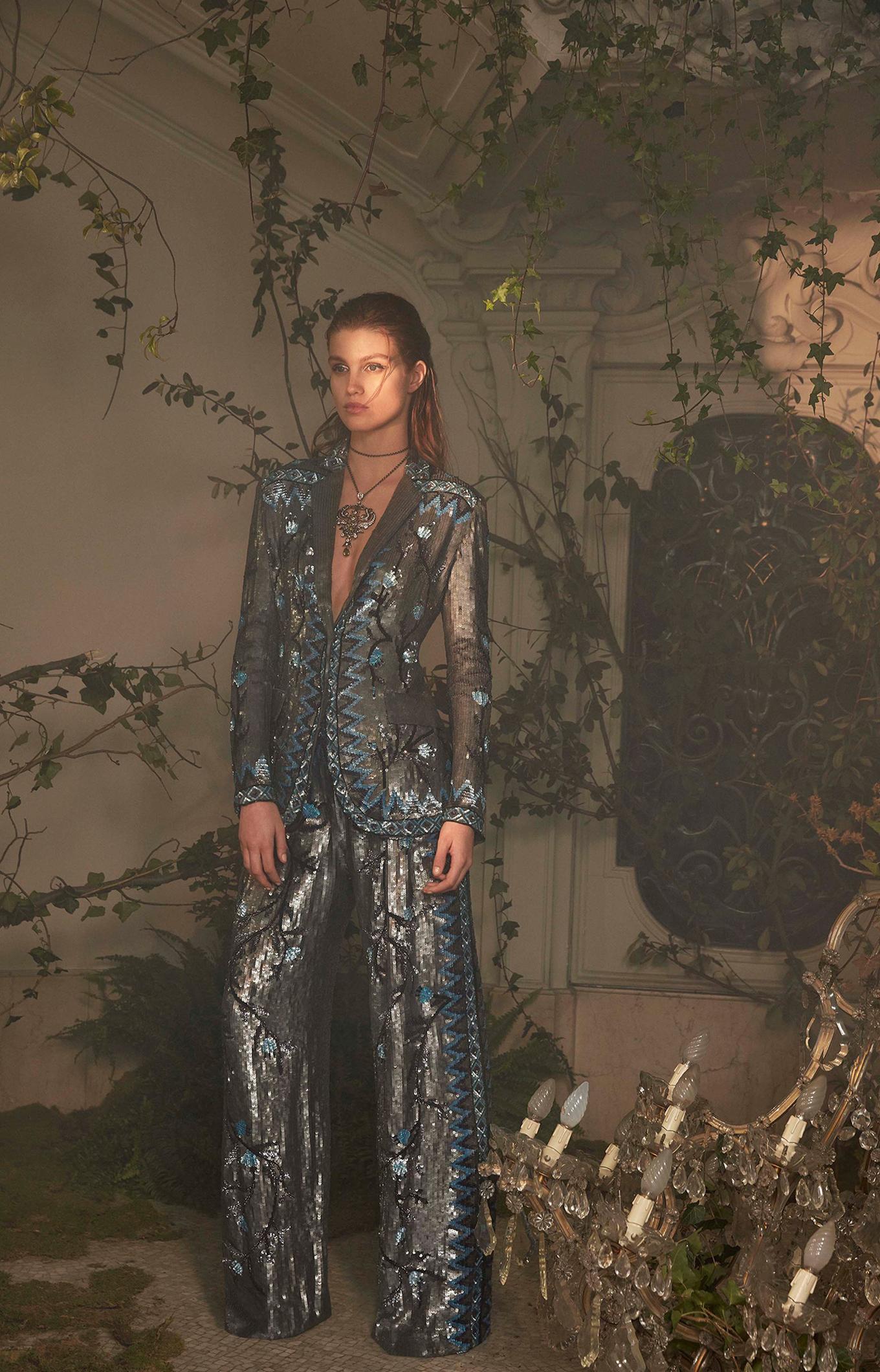 Alberta Ferretti<br>Spring 2018 Couture<br>Look 12