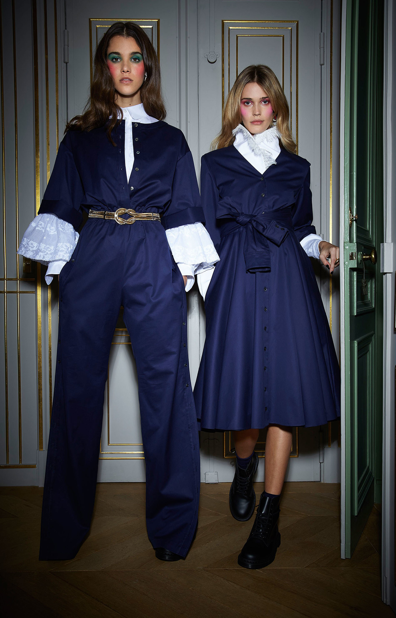 Alexis Mabille <br>Fall 2018<br>Look 10