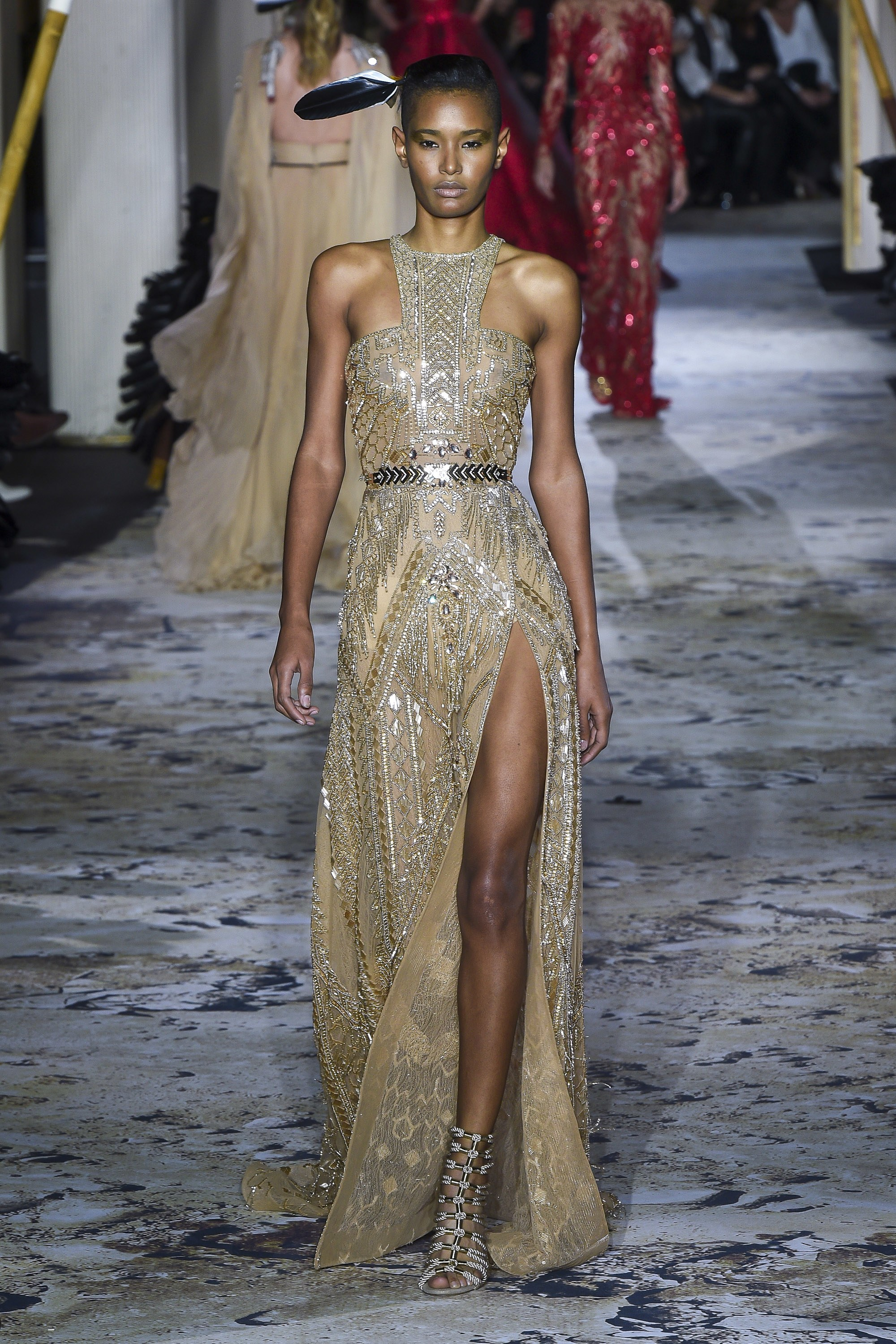 Zuhair Murad<br>Spring 2018 Couture<br>Look 35