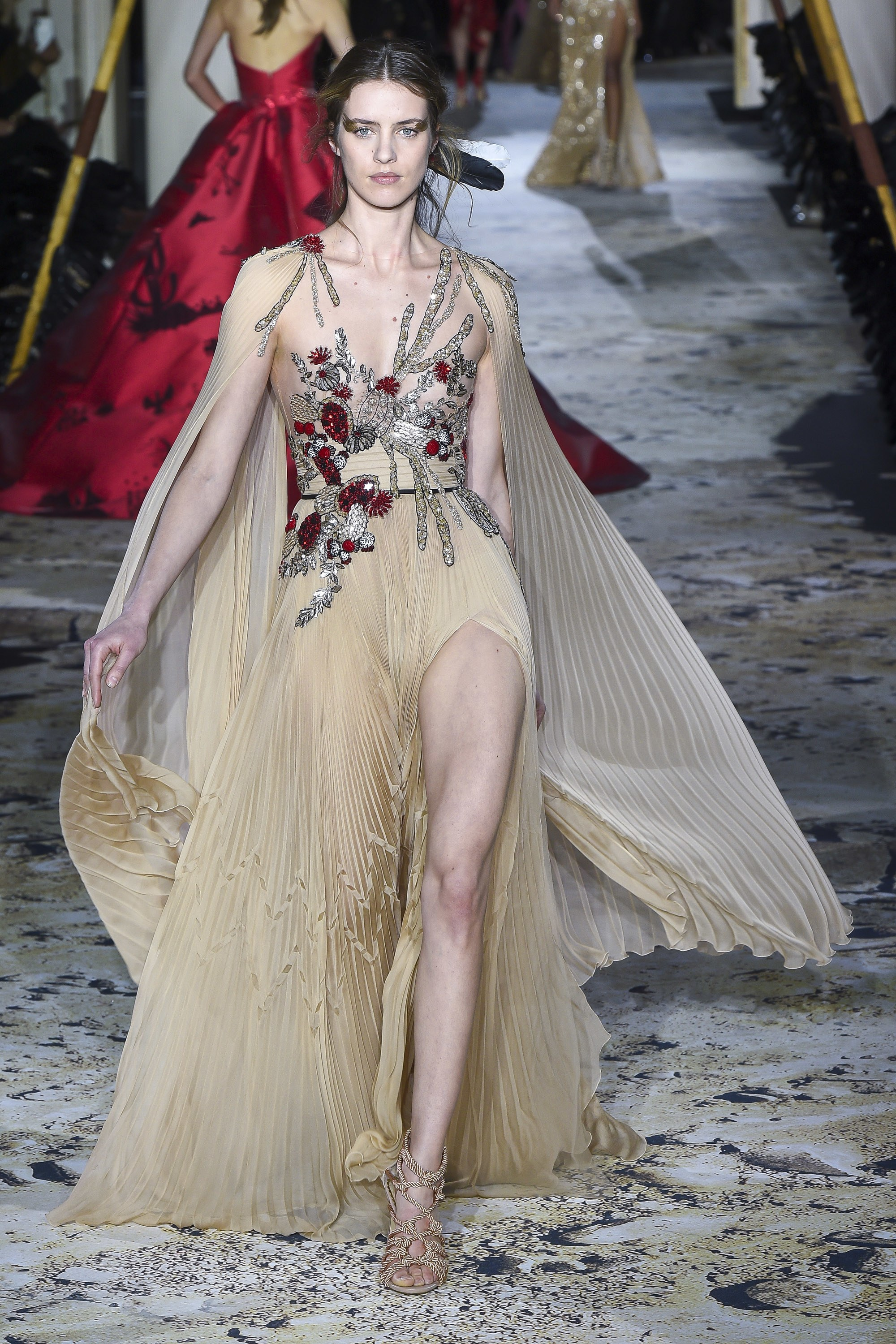 Zuhair Murad<br>Spring 2018 Couture<br>Look 34