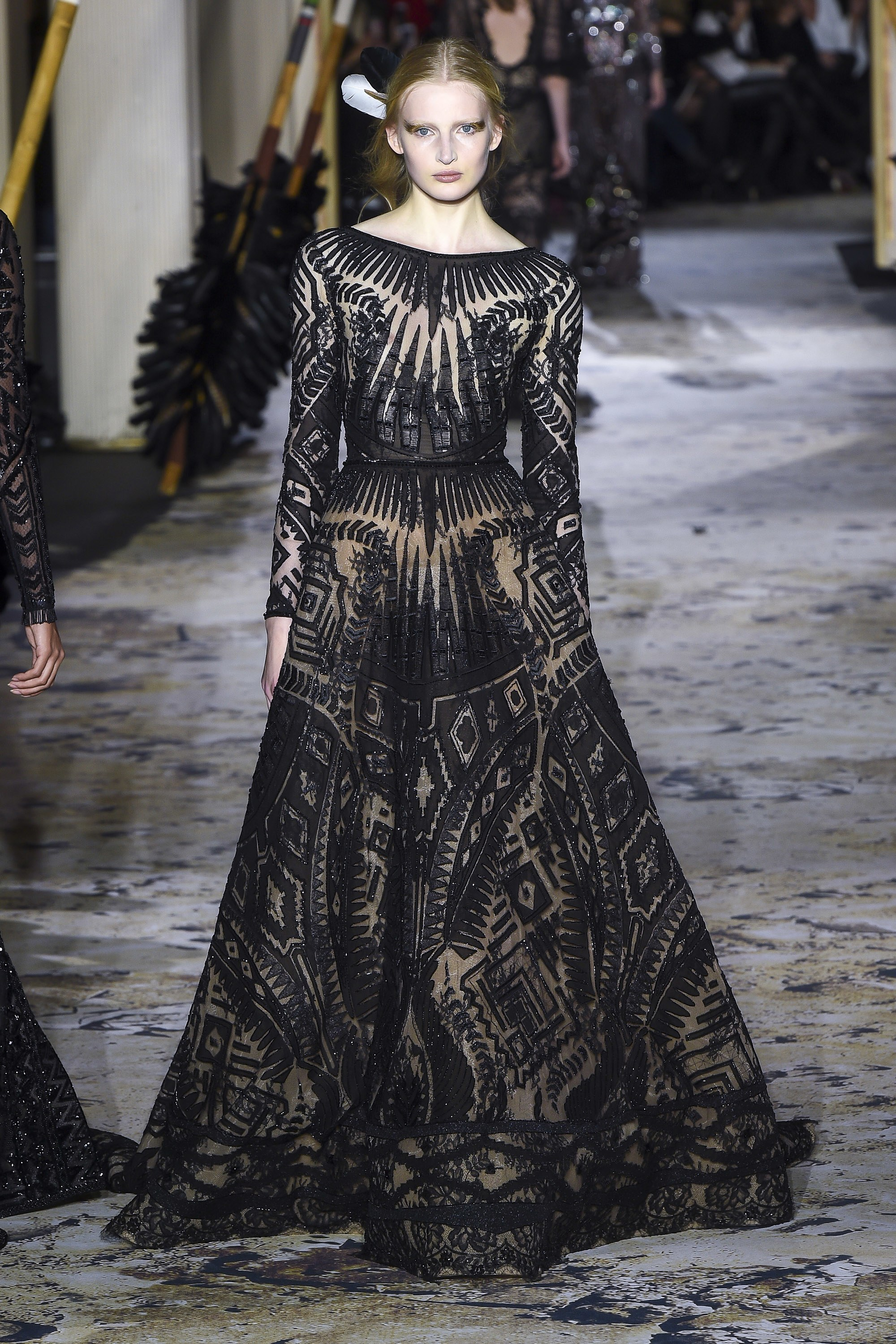 Zuhair Murad<br>Spring 2018 Couture<br>Look 12