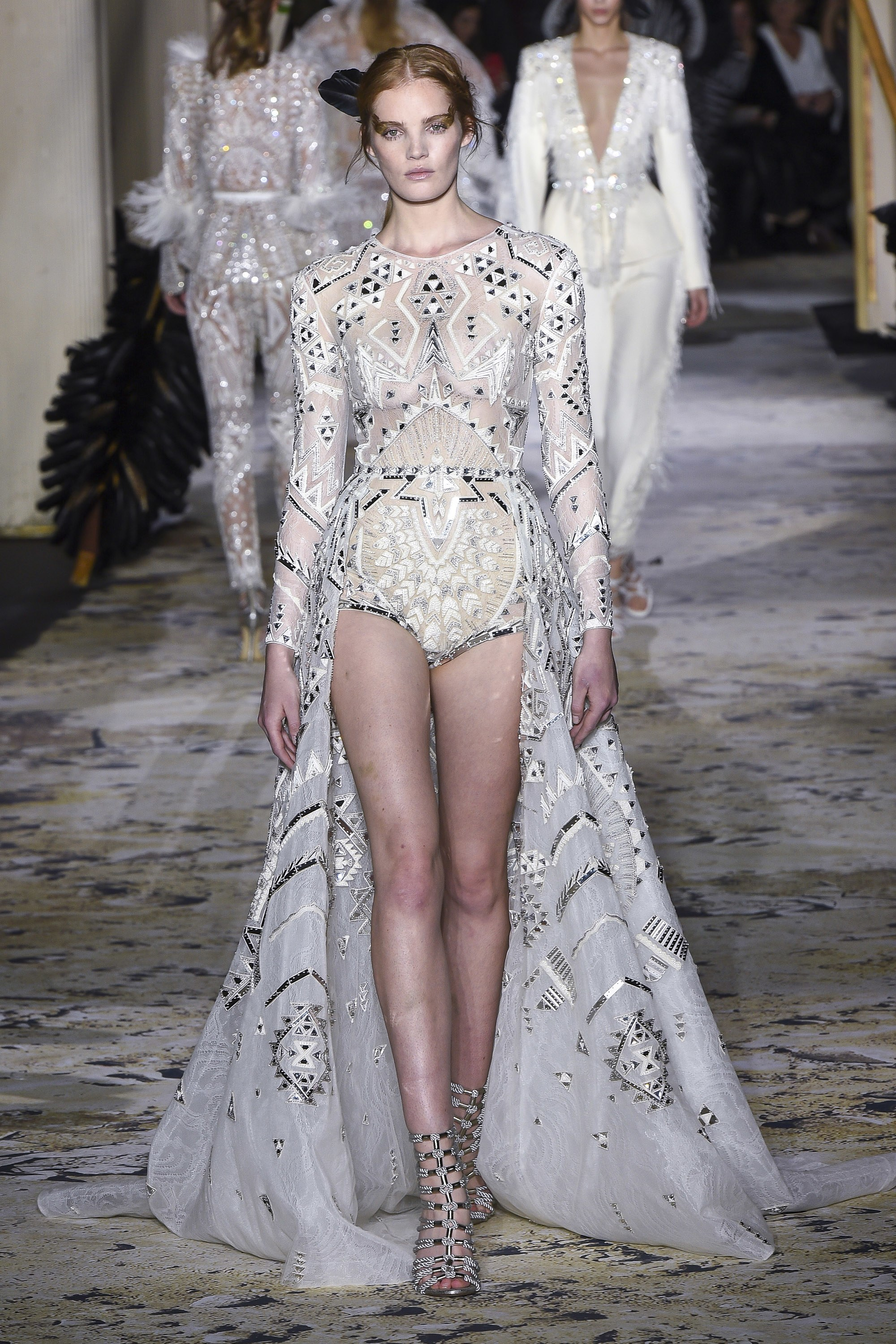 Zuhair Murad<br>Spring 2018 Couture<br>Look 04