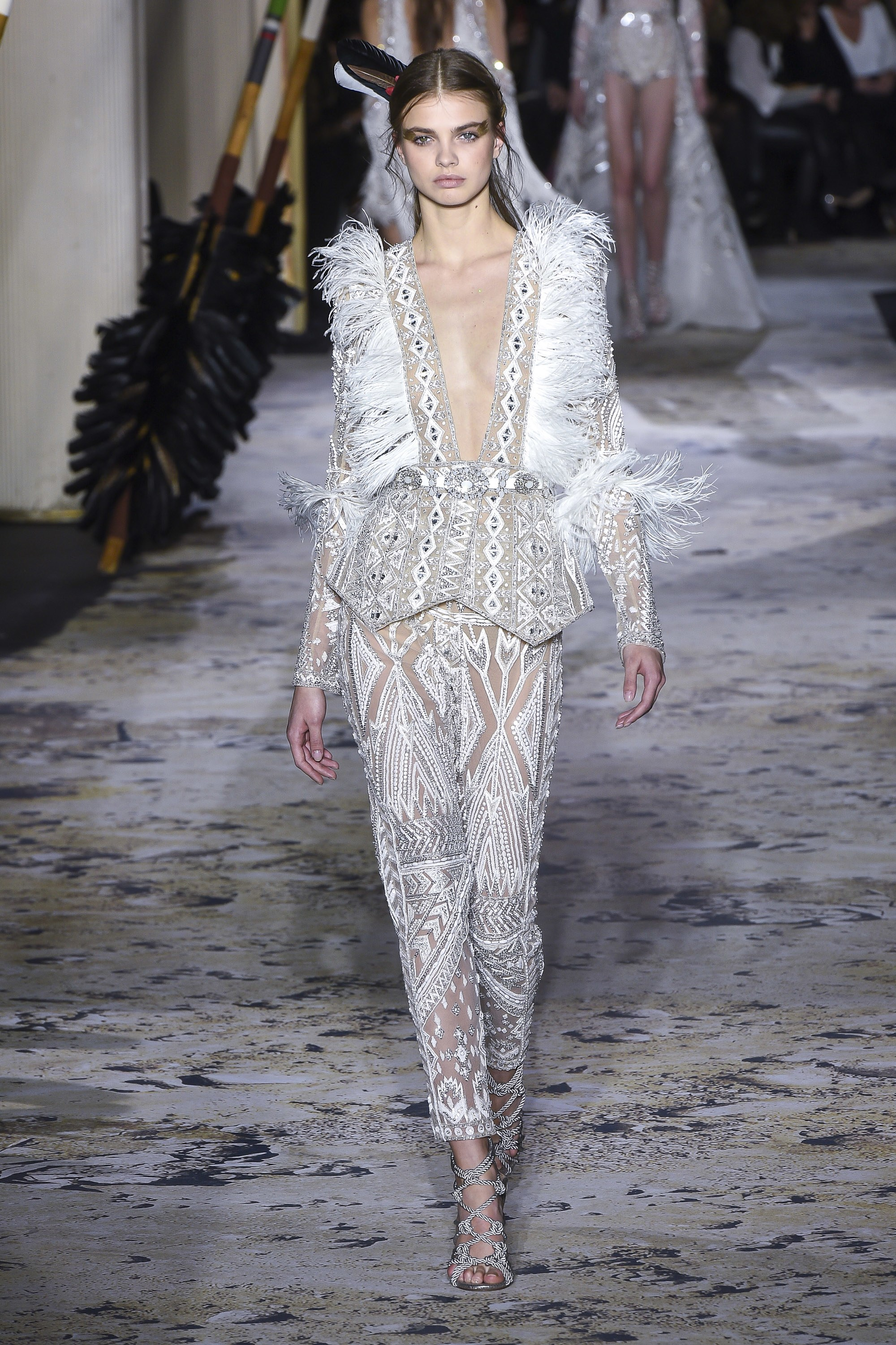 Zuhair Murad<br>Spring 2018 Couture<br>Look 03
