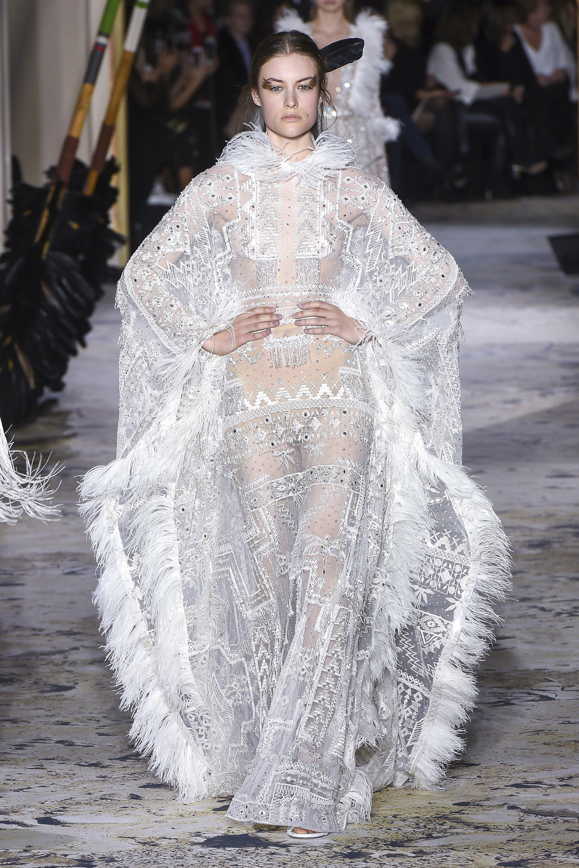Zuhair Murad<br>Spring 2018 Couture<br>Look 02