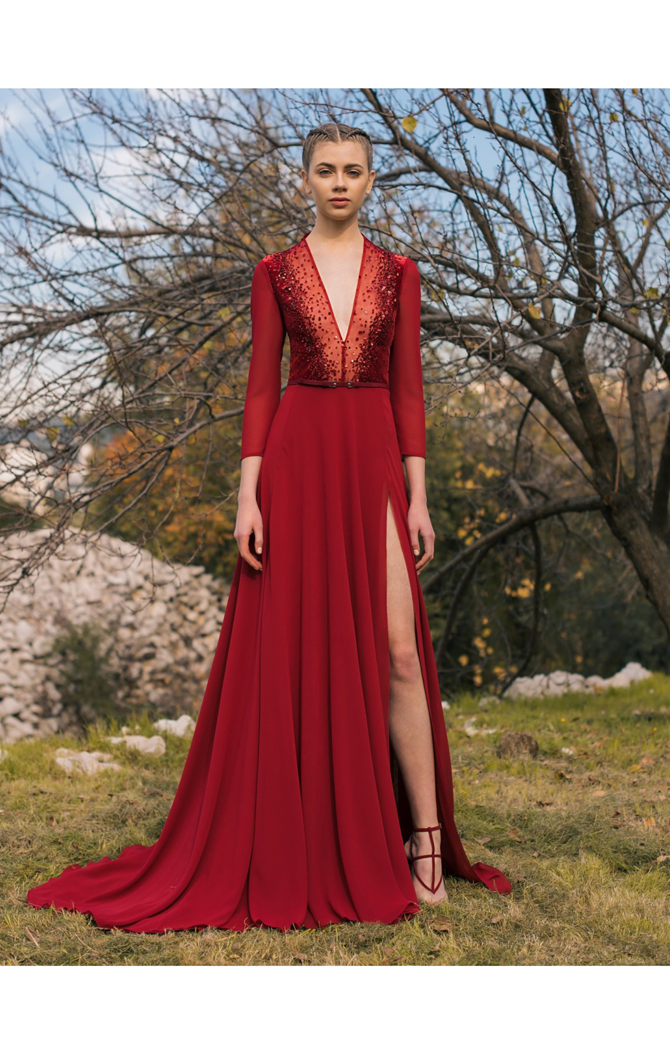 Georges Hobeika<br>Pre-Fall 2018 <br>Look 12