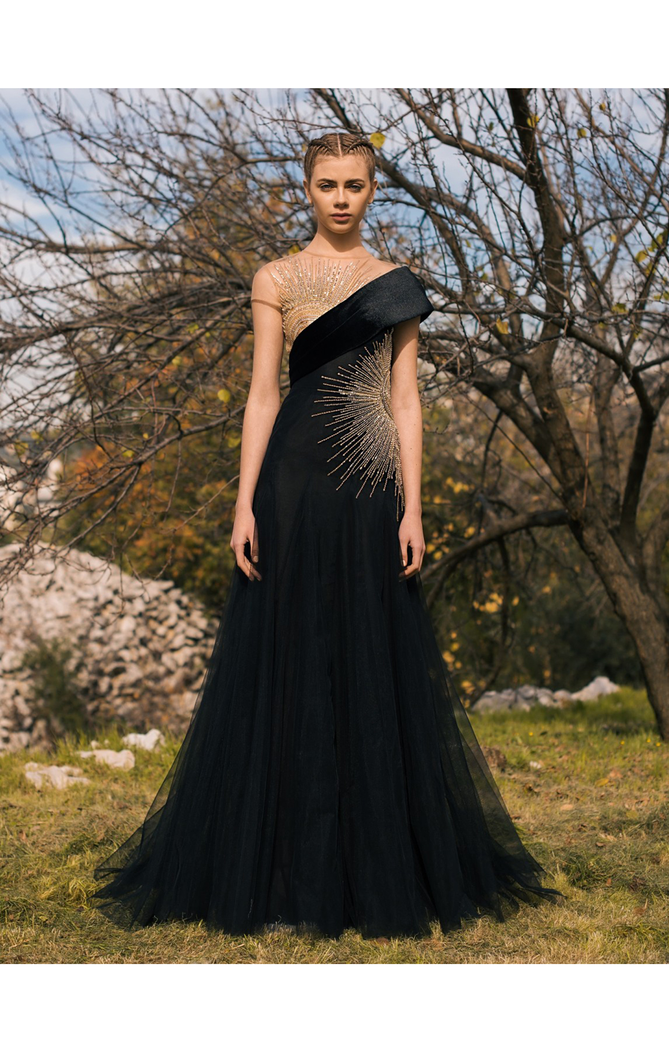 Georges Hobeika<br>Pre-Fall 2018 <br>Look 04