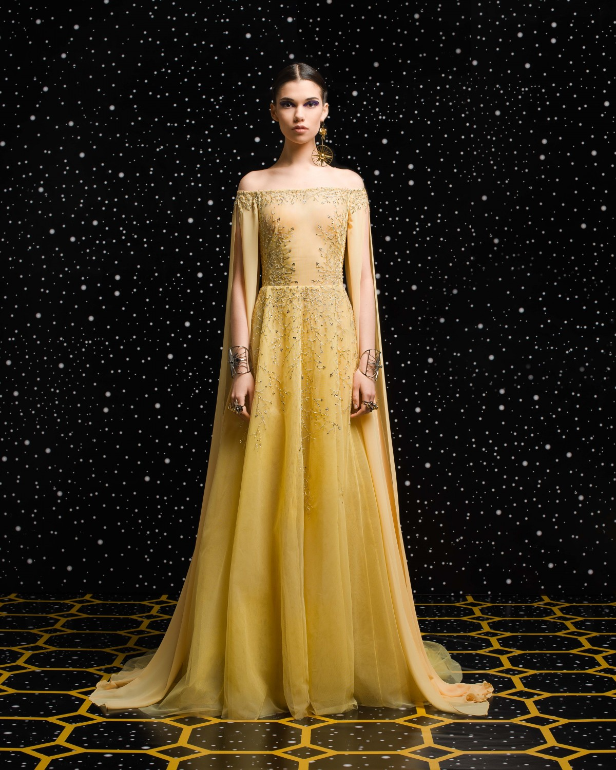 Georges Hobeika<br>Fall 2018-19 <br>Look 49