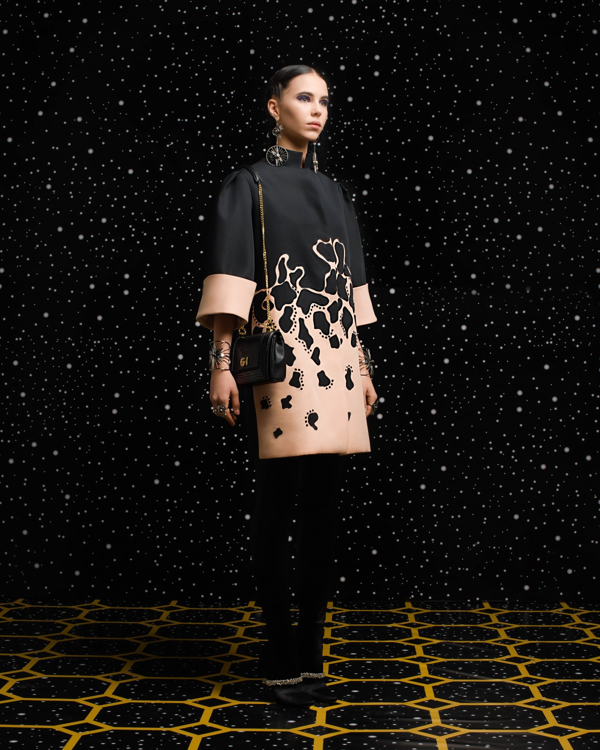 Georges Hobeika<br>Fall 2018-19 <br>Look 12