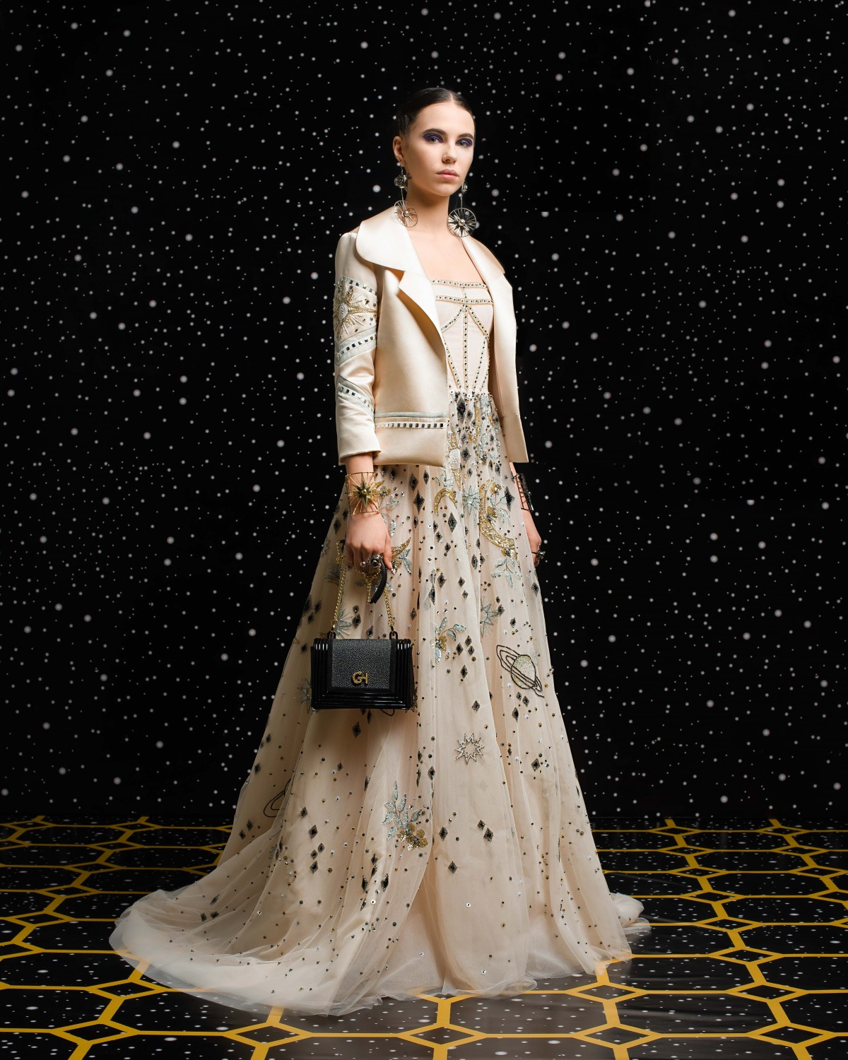 Georges Hobeika<br>Fall 2018-19 <br>Look 09