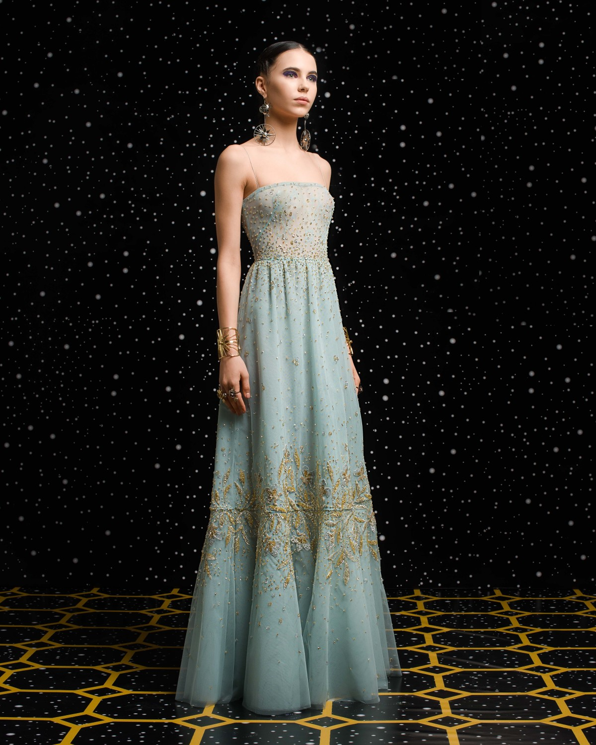 Georges Hobeika<br>Fall 2018-19 <br>Look 06