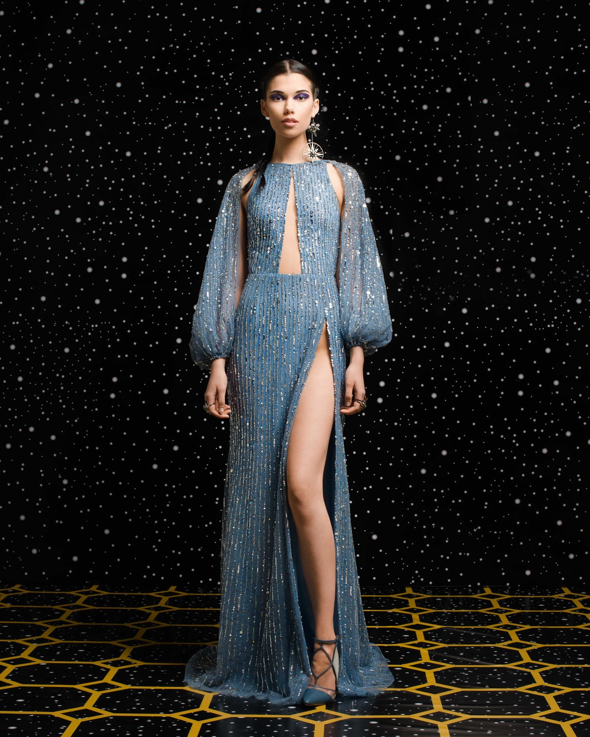 Georges Hobeika<br>Fall 2018-19 <br>Look 05