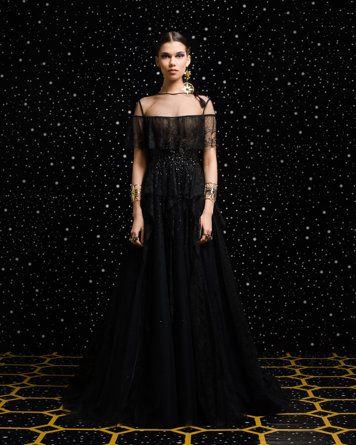 Georges Hobeika<br>Fall 2018-19 <br>Look 04