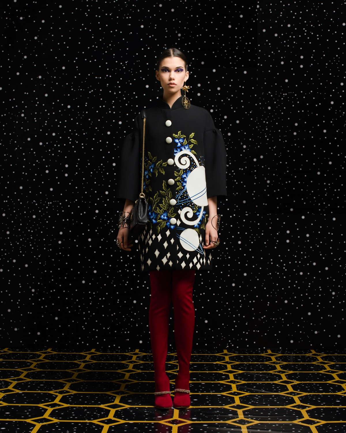 Georges Hobeika<br>Fall 2018-19 <br>Look 01
