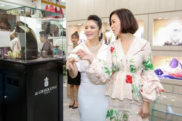 Charmaine Sheh and Vietnamese stars at the Grand Opening of Ly Nha Ky